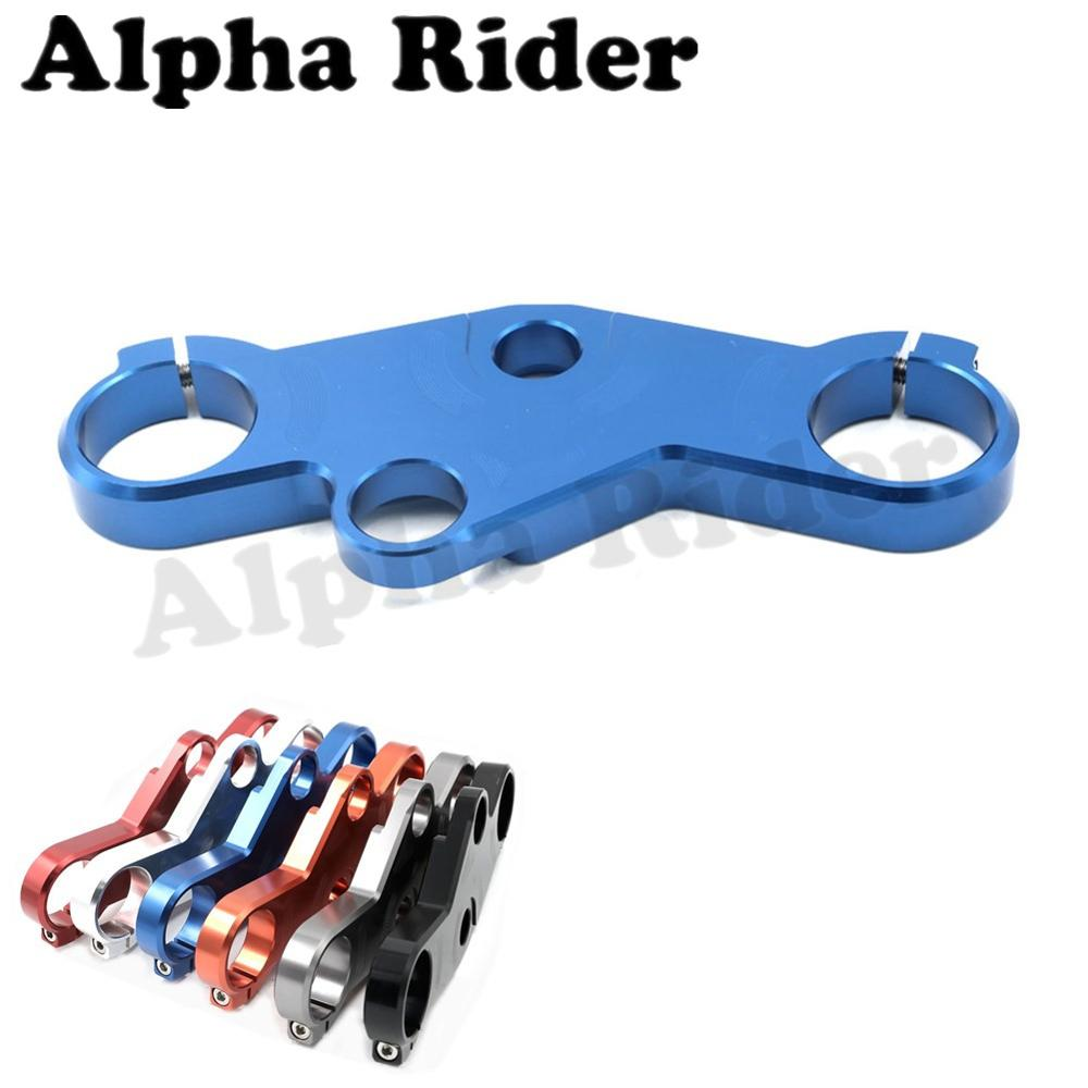 CNC Aluminum Lowering Triple Tree Front End Upper Top Clamp Yoke for Suzuki GSX-R 600/750 2001-2003 GSXR 1000 2001-2002 Racers