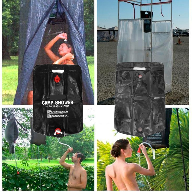 20L Solar Energy Shower Bag Camp Outdoor Camping