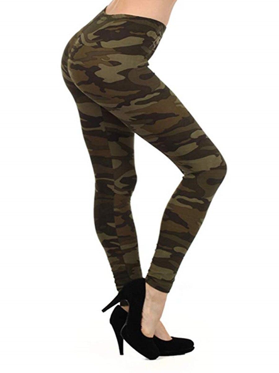 Sexy Camo Pants   Leggings   Women Summer Pants Ladies Elastic Skinny Fitness   Legging   Casual Woman Trousers