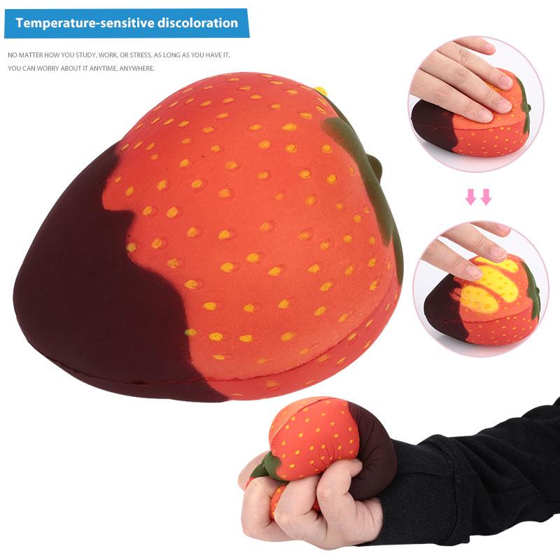 ПУ температура зондирования медленно поднимающаяся игрушка сжимаемая игрушка модель снятия стресса Красивая расслабленная домашняя Рождественская забавная антистрессовая игрушка
