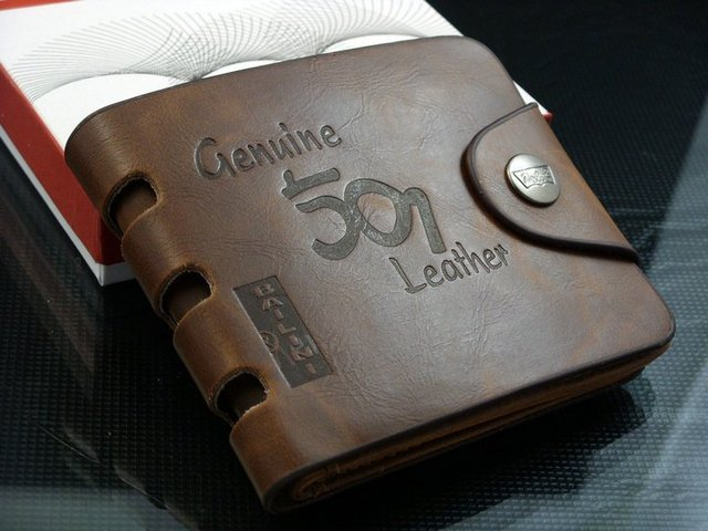 Free shipping+2016 fashion Men Wallet+ Men Purse + Men rfid card leather wallet+ Genuine leather+ dropshipping  W-B25