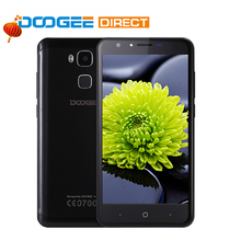 Doogee Y6 Fingerprint Smartphone 5.5 Inch HD 2GB+16GB Android 6.0 Dual SIM MTK6750 Qcta Core 13.0MP 3200mAH WCDMA LTE GSM GPS