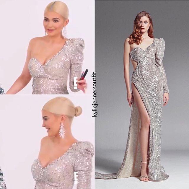 Élégant soirée Sexy femmes robe Empire une épaule v-cou dos nu fente paillettes célébrité corps con robes en gros