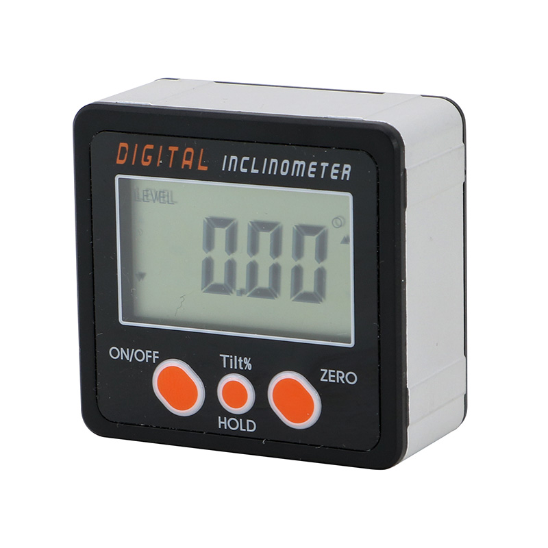 Digital Inclinometer Level Protractor Angle Finder Bevel Gauge Magnet Aluminum