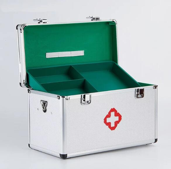 XSB1-XSB20 3M family home special size aluminum alloy medicine box multi-layer medical first aid kit first aid kit multi family home healthcare kits wholesale pharmaceutical medicine box medical portable suitcase medical kit