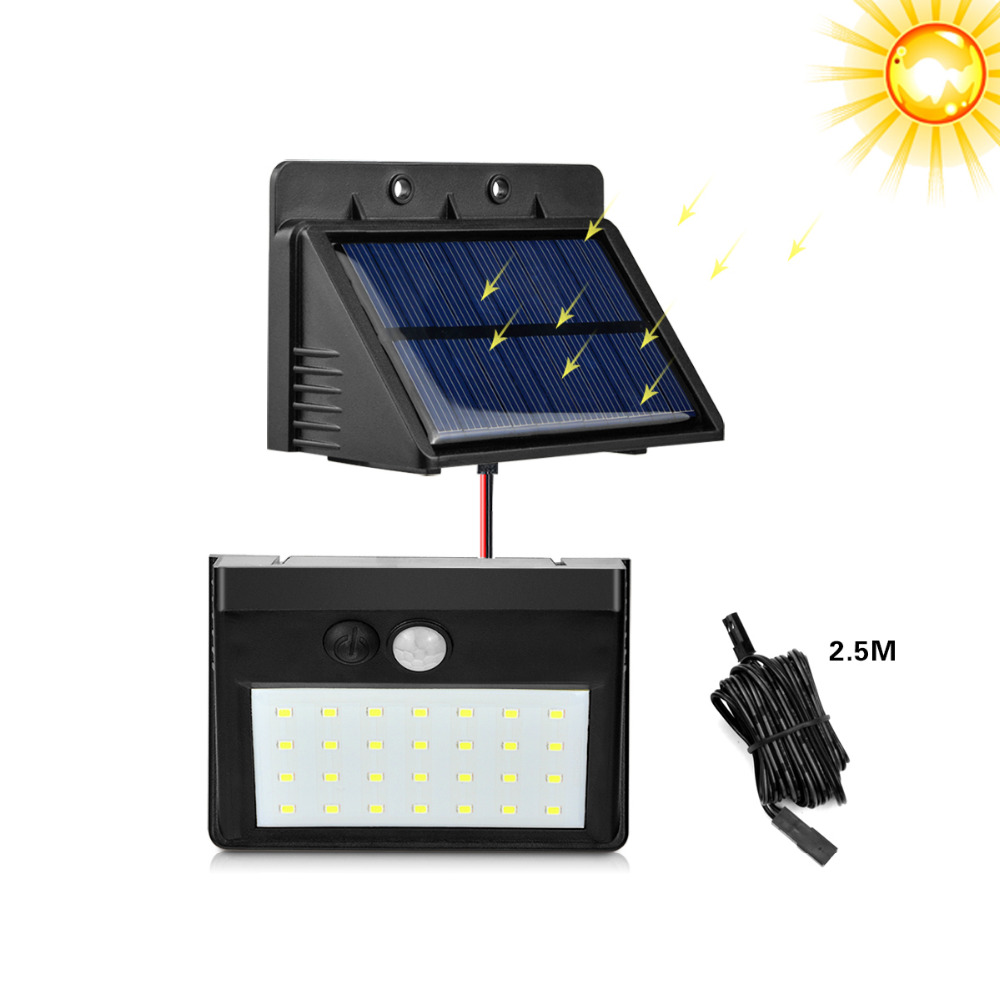 20 LEDs & Separable 28 LEDs Solar PIR Motion Sensor LED ...