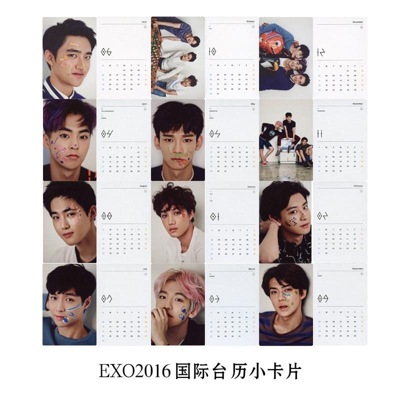 Diy Kpop Calendar : Youpop wholesale kpop fan exo k m world