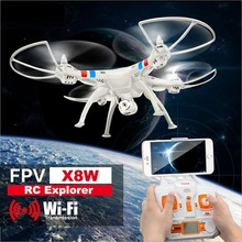 Professional RC Helicopter FPV x8w 2.4g 4ch 6-axis drone with hd camera real-time transimition 360 degree rotating rc toy gift