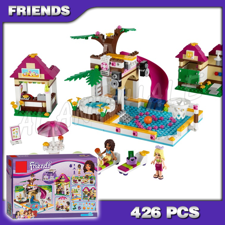 New Friends The Heartlake City Model Compatible With Legoing Friends FREE SHIP