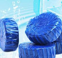 1 PC Blue Bubble Clean Toilet Deodorant Toilet Cleaner Free Shipping