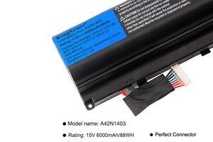 Image 5 - KingSener 15 V 6000 mAh נייד קוריאה A42N1403 סוללה עבור ASUS ROG G751 G751JY G751JM G751JT GFX71 GFX71JY GFX71JT A42LM9H a42LM93
