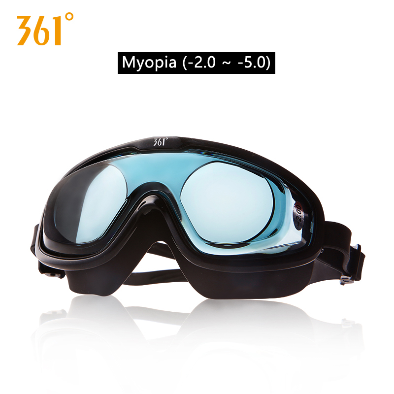 361 Large Frame Unisex Myopia Swimming Goggles HD Waterproof Anti Fog Men Women Glasses Adult Pools Swimming Glasses Swim Gear