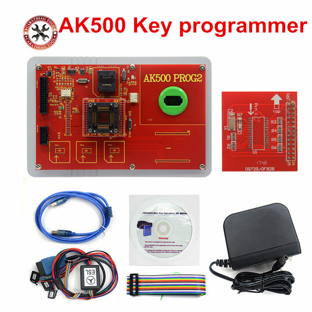 US $265 05 5% OFF|Hot!!! AK500 Key programmer for BMW/mercedes For benz car  ecu repair programming odometer adjustment Free Shipping-in Auto Key