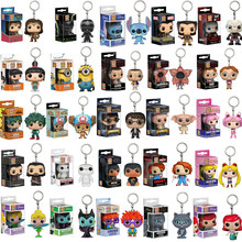 Funko POP DISNEY Keychain MALEFICENT Chessur Goose STITCH HARRY POTTER PVC ACTION FIGURE ARIEL COLLECTION TOYS FOR KIDS GIFT(China)