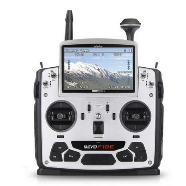 F09070 Walkera DEVO F12E 32 channel 5.8GHz 5″ LCD Screen Radio System Transimitter for H500 X350 pro X800 RC Drone Quadcopter