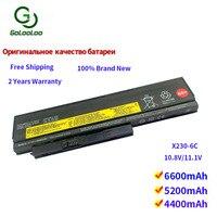 Golooloo 6 cells laptop battery for Lenovo ThinkPad X220 X220i X220s X230 X230i X230S 45N1025 45N1024 45N1028 45N1029 45N1020
