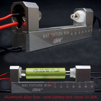 Boutique doble auto-bloqueo de aleación de aluminio CNC de cuatro cables titular de la batería BF-10-20A para 18650 AA AAA