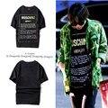 2016 New Fashion Big Bang G-Dragon Men T-shirts Brand Clothing Tshirt  Hip-Hop Shark Harajuku Tops Tees Palace T Shirt Homme