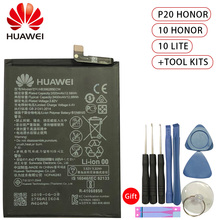 цена на New Original 3400mAh HB396285ECW Battery Huawei P20 For Honor 10 COL-AL00 COL-AL10 COL-TL00 COL-TL10 COL-L29 Battery + Tool