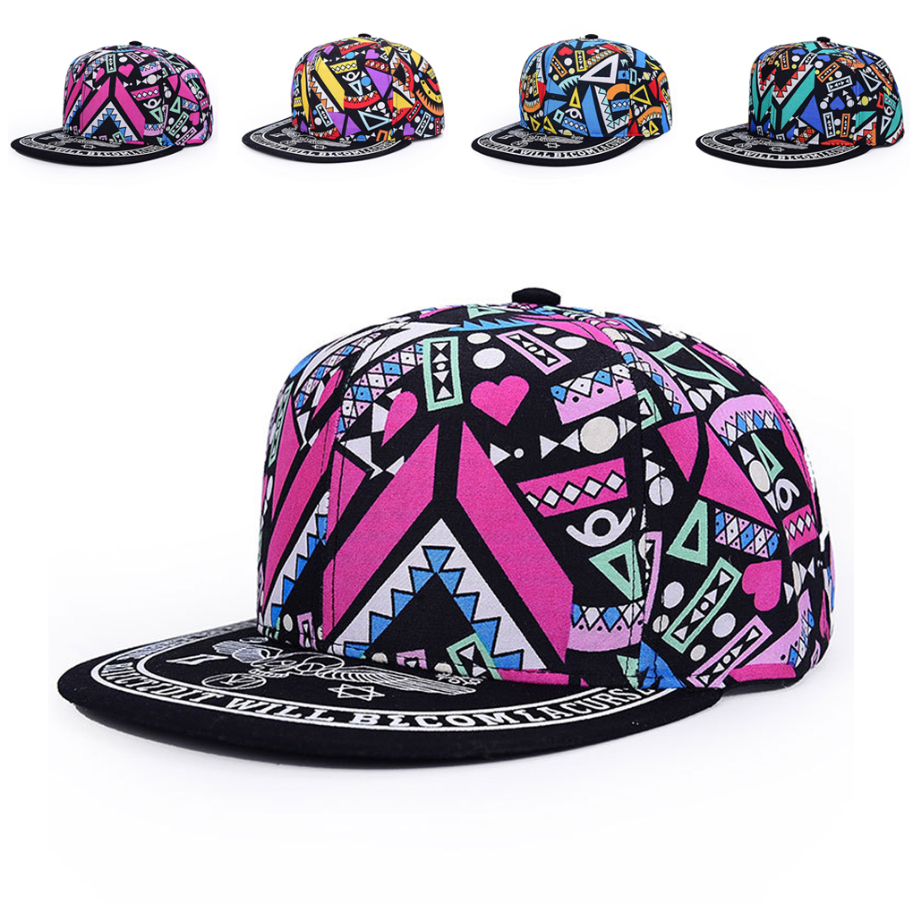 Unisex Cotton   Baseball     Cap   Graffiti Totems Print Hip-Pop   Caps   Hat for Outdoor