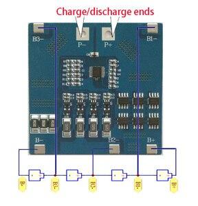 Image 3 - 4 S 12A 12.8 V LiFePO4 BMS/PCM/PCB pil koruma devre 4 Paketleri için 18650 pil hücresi w /denge