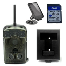 Free Shipping!Ltl Acorn 5310WMG Trail Hunting Camera MMS GPRS+Free 8GB SD Card+6V Solar Battery+Metal Security Box