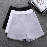 2019 новые летние модные новые женские шорты юбки с высокой талией повседневные шорты черные белые женские короткие брюки женские шорты