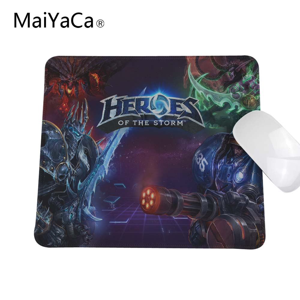 Heroes Of The Storm Mouse Pad High Quality Pad Mouse Notbook Mousepad Natural Rubber Gaming Padmouse Gamer To Keyboard Mouse Mat цены