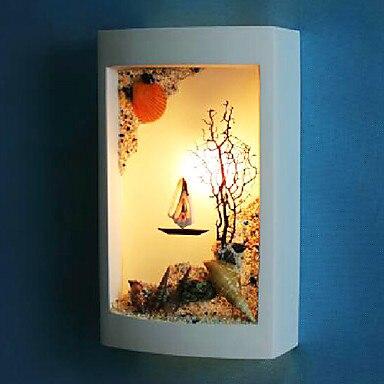 yeso artculo madera lmparas led de pared modernos luz para la iluminacin casera lmpara de