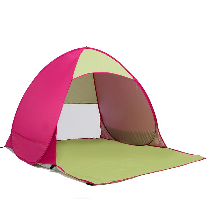 Quick Open Pop Up Beach Awning Fishing Tent Outdoor