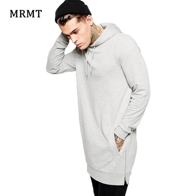 4a23c07b6 Aliexpress.com : Buy New Arrival Fashion Men's Long Grey Hoodies Sweatshirts  Feece With Side Zipper Longline Hip Hop Streetwear Shirt Tops Longline from  ...