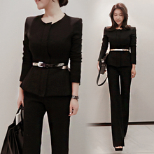 Office Blazer and Pants Set