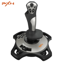 PXN PRO 2113 Wired 4 Axles Flying Game arcade Joystick Controller Professional Gaming Gamepad Flight Stick USB Joystick for PC