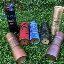HOT Electronic Cigarette Elthunder III Mechanical mod VAPE 18650/20700 Battery 510 Thread Colorful Exquisite Pattern e cigarette