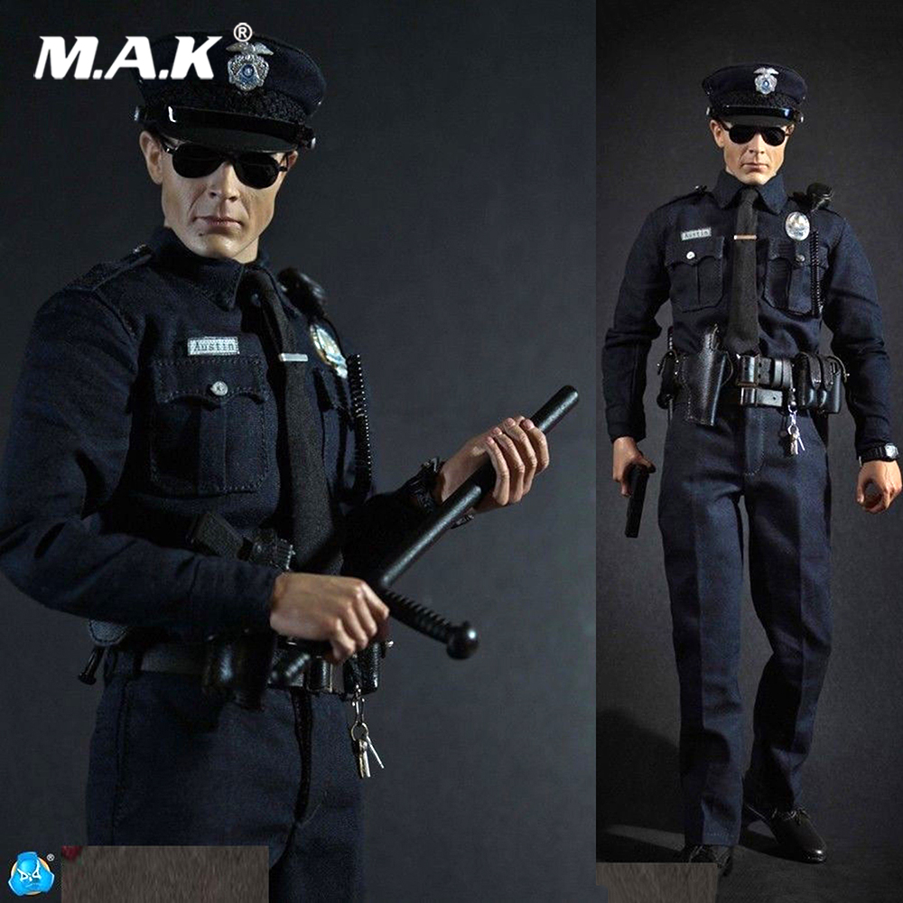 Full set Collection 1/6 LAPD Patrol Police Officer Austin Los Angeles Patrol (MA1009) Action Figure Doll Toys GiftFull set Collection 1/6 LAPD Patrol Police Officer Austin Los Angeles Patrol (MA1009) Action Figure Doll Toys Gift