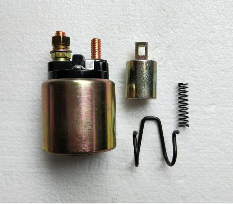 Free Shipping Square Diesel Engine 170F 178F 186F 186FA solenoid switch electric relay starting motor starter