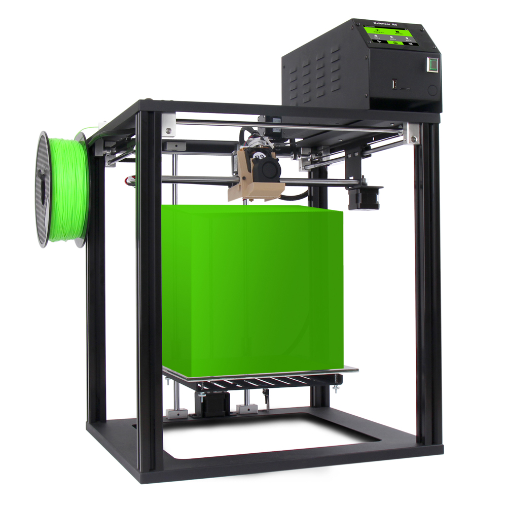 ツ)_/¯2018 pantalla táctil fácil 3D impresora Defensor R9, full ...