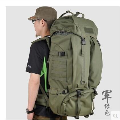 28739b6911 HIgh Quality Huge Capacity Women Men Unisex Outdoor Backpack Military  Tactical Backpack Hiking Bag Laptop Backpack Travel Bag