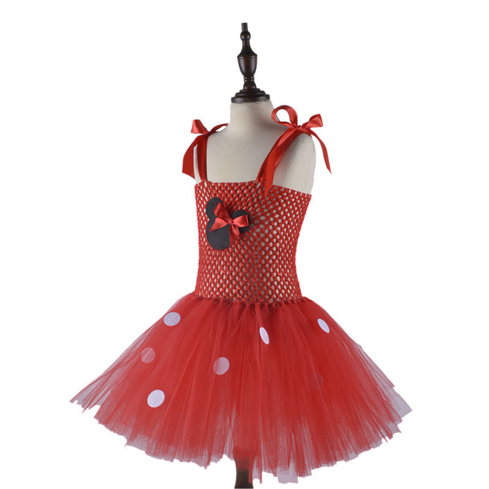 Baby Halloween Costumes Cosplay Children Clothing Kids Birthday Clothes for 2-9 Years Old Toddler Tutu Christmas Red Dress Girl
