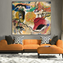 Abstract Wall Art Pictures For Living Room Home Decor Clock Time Canvas Art Oil Painting Wassily Kandinsky цена 2017