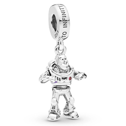 New 925 Sterling Silver Charm Cute Pixar Toy Story Buzz Lightyear Pendant Beads Fit Pandora Bracelet Bangle Diy Jewelry