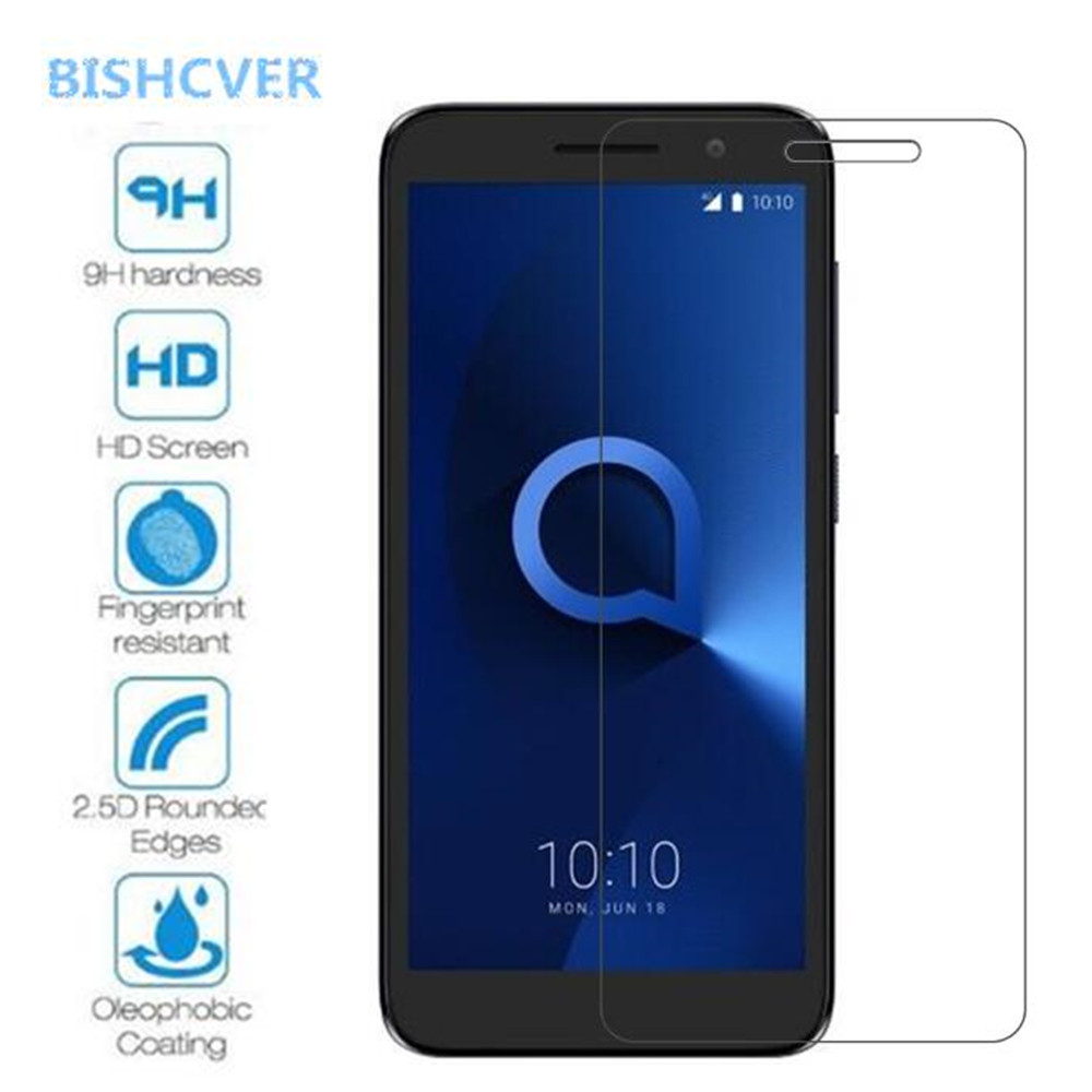 2PCS Tempered Glass For Alcatel 1 5033D 2019 Explosion Proof Screen Protector For Alcatel 1 2018 Protective Film Glass