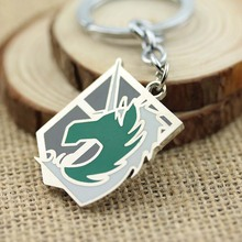 blucome kawaii green blue lucky toad keychains women present chinese wealth frog key chian moon chaveiro keyring llavero jewelry Dropshipping Anime Attack on Titan Keychain Green Horse Logo Accessories Pendant Keyring Chaveiro Llavero for Men Women Gift