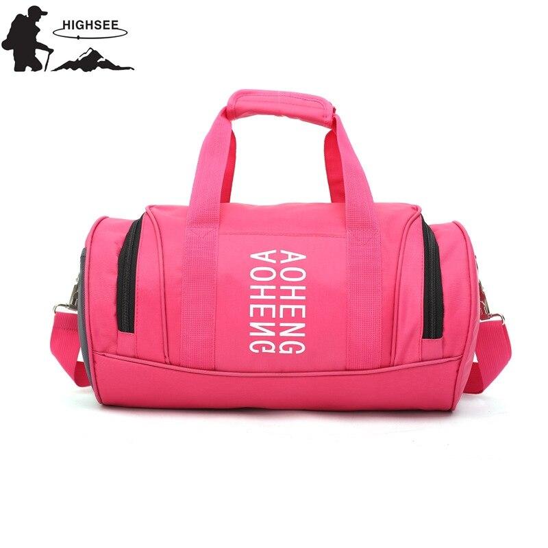 Sport Bag For Women Yoga Fitness Bag Nylon Waterproof  Sport Gym Bag Men Training Shoulder Crossbody Outdoor travel Handbag