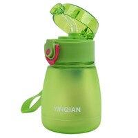 320ml esfrega o copo de alimentação do bebê com palha crianças aprendem a alimentar a garrafa bebendo copo de treinamento com palha taza de bebe novo Xícaras    -