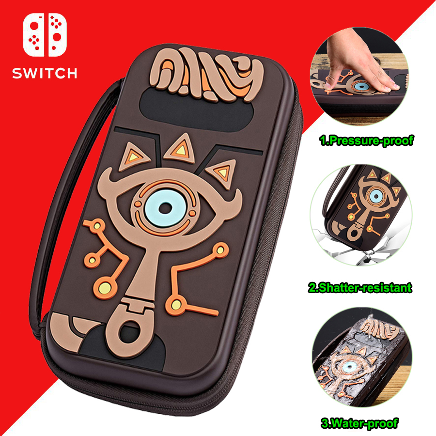 Nintend Switch Hard Stronger Carry Storage Big Bag Nintendos Travel Protective Case for Nintendoswitch Console Game Accessories