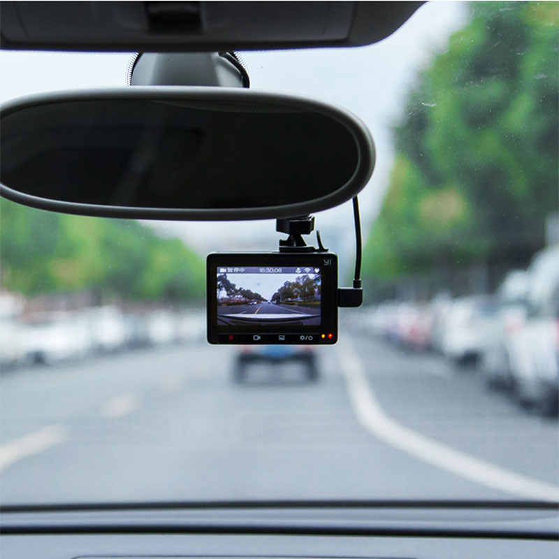 יי קומפקטי דאש מצלמה 1080p מלא HD רכב לוח מחוונים Wifi מצלמה עם 2.7 אינץ LCD מסך 130 WDR עדשה g-חיישן ראיית לילה
