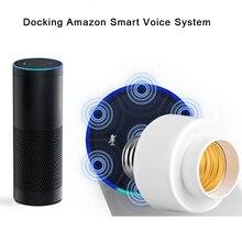 Wifi Drahtlose Smart Glühbirne Sockel Schraube Licht Lampe Halter Kappe Buchse Unterstützung E27 Heimgebrauch