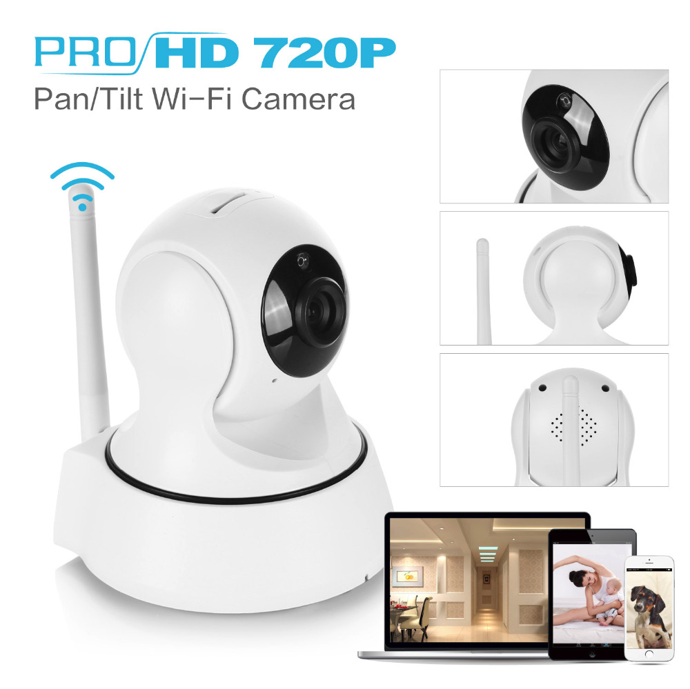 SANNCE IP Camera Wireless 720P IP Security Camera WiFi IP ...