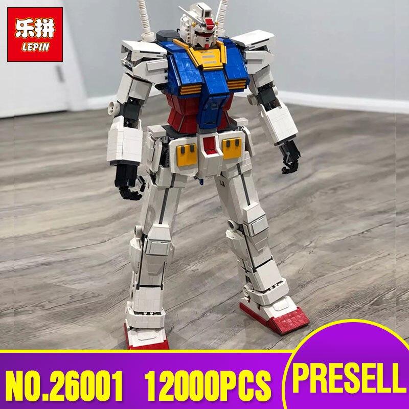 Série de films DHL Lepin 26001 le Super Robot guerrier MOC ensemble de blocs de construction briques Legoing Kid jouets modèle de Robot cadeau de noël